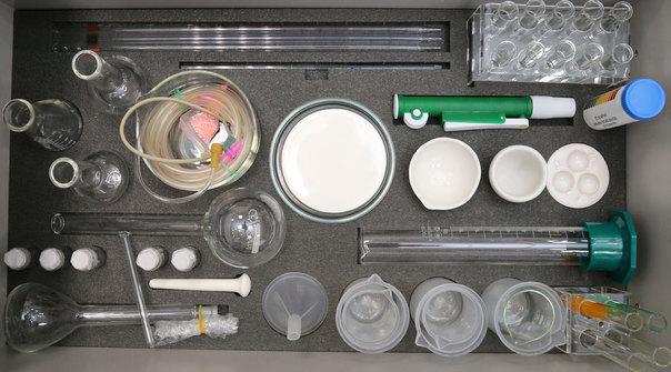 Ящик№1 лабораторного комплекса для учебной практической и проектной деятельности по естественнонаучным дисциплинам