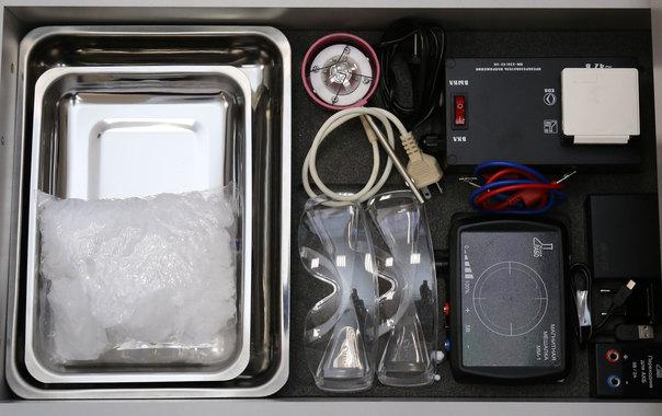 Содержимое Ящика №5 Лабораторного комплекса по биологии и экологии ЛКБЭ