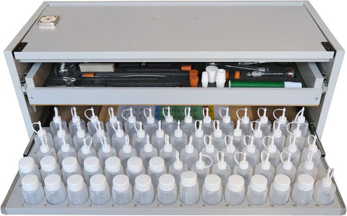 Настольная тумба нижний ящик Лабораторного комплекс для учебной практической и проектной деятельности по химии
